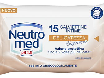 Neutromed Salviettine Intime Delicatezza Suprema
