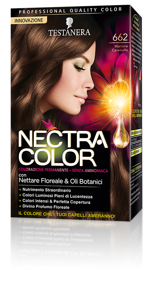 Nectra Color 662 Marrone Caramello