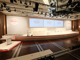 Henkel Annual General Meeting in Duesseldorf Germany